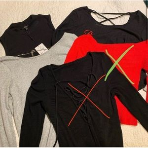 Tops - bundle of 3 casual long sleeve tops!
